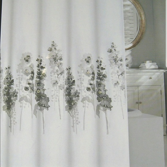 Tahari Home Fabric Floral Shower Curtain
